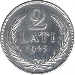 Кованица > 2лата, 1925-1926 - Летонија  - reverse