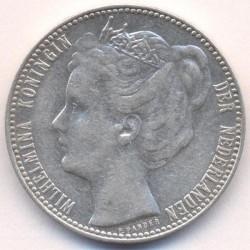 Monēta > 1guldenis, 1904-1909 - Nīderlande  - reverse