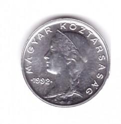 Moneta > 5filler, 1990-1992 - Ungheria  - obverse