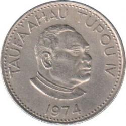 Монета > 10сеніті, 1974 - Тонга  - obverse
