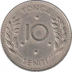 Монета > 10сеніті, 1974 - Тонга  - reverse