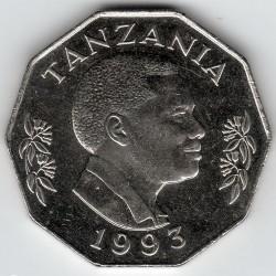 Moneta > 5szylingów, 1990-1993 - Tanzania  - obverse