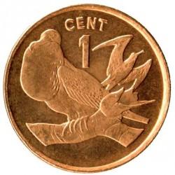 Монета > 1цент, 1992 - Кірибаті  (Сталь з бронзовим покриттям /магнетик/) - reverse