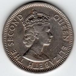 Moneta > 25centesimi, 1955-1965 - Caraibi Orientali  - obverse