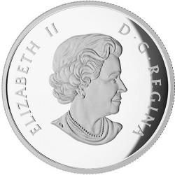 Moneta > 50dolarów, 2014 - Kanada  (Puchacz śnieżny) - obverse