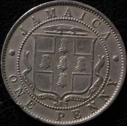 Monēta > 1pens, 1914-1928 - Jamaika  - reverse