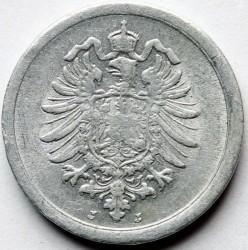 Кованица > 1фенинг, 1916-1918 - Немачка  - obverse