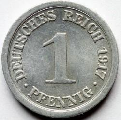 Кованица > 1фенинг, 1916-1918 - Немачка  - reverse