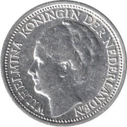 Moneta > 10centesimi, 1926-1945 - Paesi Bassi  - obverse