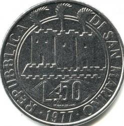 Монета > 50лір, 1977 - Сан-Марино  (Екологія) - obverse