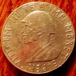 Coin > 2lekë, 1939 - Albania  (Non-magnetic) - obverse