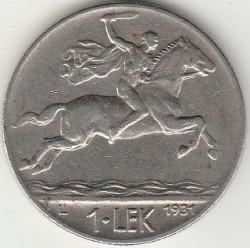 سکه > 1لک, 1926-1931 - آلبانی  - reverse
