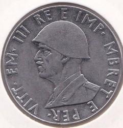 Moneda > 2lekë, 1939 - Albània  (Magnètica) - obverse
