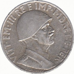Coin > 1 lek, 1939 - Albania  (Non-magnetic) - obverse