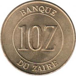 Монета > 10заиров, 1988 - Заир  - reverse