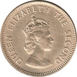 Coin > ¼ shilling, 1957-1960 - Jersey  - obverse