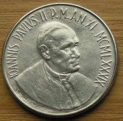 Mynt > 50lire, 1989 - Vatikanstaten  - obverse