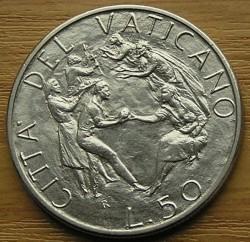 Mynt > 50lire, 1989 - Vatikanstaten  - reverse