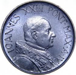 Mynt > 5lire, 1959-1962 - Vatikanstaten  - obverse