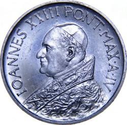 Mynt > 10lire, 1959-1962 - Vatikanstaten  - obverse