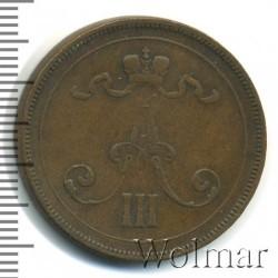 Кованица > 10пенија, 1889-1891 - Финска  - reverse
