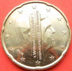 Moneda > 20céntimos, 2016 - Países Bajos  - obverse