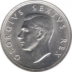 سکه > 5شیلینگ, 1952 - آفریقای جنوبی  (300th Anniversary - Founding of Capetown) - obverse
