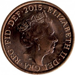 Munt > 2pence, 2015-2018 - Verenigd Koninkrijk  - obverse