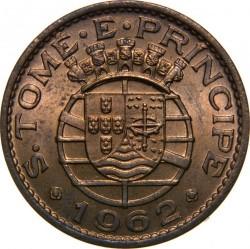 Монета > 1эскудо, 1962-1971 - Сан-Томе и Принсипи  - obverse