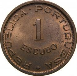 Монета > 1эскудо, 1962-1971 - Сан-Томе и Принсипи  - reverse