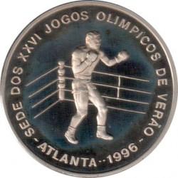 Moneta > 1000dobras, 1996 - São Tomé e Príncipe  (XXVI Giochi olimpici estivi, Atlanta 1996 - Boxe) - reverse