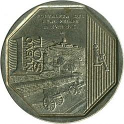 Minca > 1nuevosol, 2012 - Peru  (Fortaleza del Real Felipe) - obverse