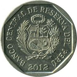 Minca > 1nuevosol, 2012 - Peru  (Fortaleza del Real Felipe) - reverse