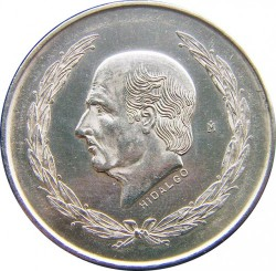 Münze > 5Pesos, 1951-1954 - Mexiko  - obverse