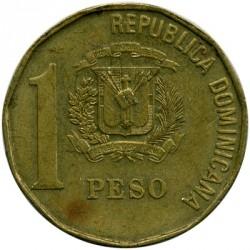 Minca > 1peso, 1991-1992 - Dominikánska republika  - reverse
