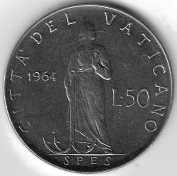 Moneta > 50lire, 1963-1965 - Vaticano  - reverse