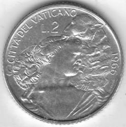 Монета > 2лири, 1966 - Ватикан  - reverse