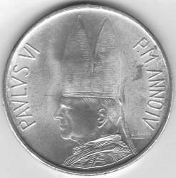 Monēta > 500liru, 1966 - Vatikāns  - obverse