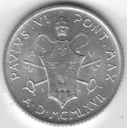 Mynt > 2lire, 1967 - Vatikanstaten  - obverse