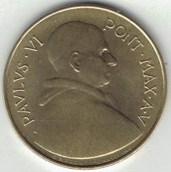 Mynt > 20lire, 1967 - Vatikanstaten  - obverse