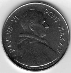 Moneda > 50liras, 1967 - Ciudad del Vaticano  - obverse