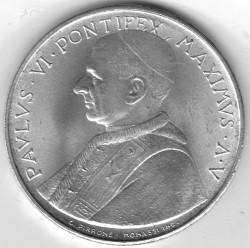 Монета > 500лири, 1967 - Ватикан  - obverse