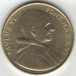 Minca > 20lire, 1968 - Vatikán  - obverse