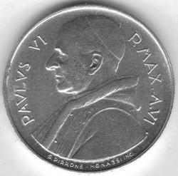 Mynt > 1lira, 1968 - Vatikanstaten  - obverse