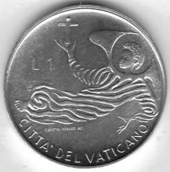 Монета > 1лира, 1969 - Ватикан  - reverse