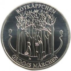 Moeda > 20euro, 2016 - Alemanha  (Contos de Grimm  –  Capuchinho Vermelho) - reverse