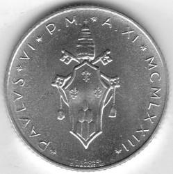Кованица > 2лире, 1970-1977 - Ватикан  - obverse