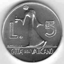 Moneta > 5lire, 1978 - Vaticano  - reverse