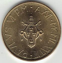Mynt > 20lire, 1978 - Vatikanstaten  - obverse