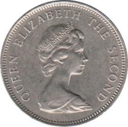 العملة > 10بنس, 1974-1992 - جزر فوكلاند  - obverse